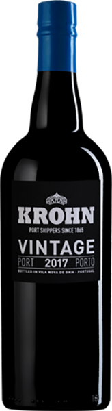 Krohn Vintage Port 2017, 75cl. Portugal
